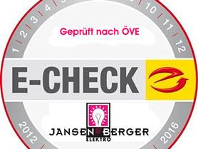 E-Check von Elektrotechnik Jansenberger
