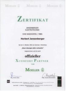 Elektriker-Jansenberger-Ybbstal-Zertifikat-Heimautomatisierung