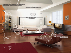 Kommunikation im Wohnzimmer