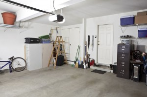 Installation einer Garage